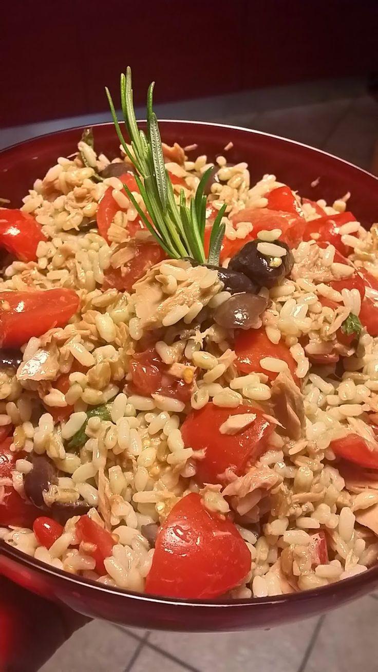Le Ricette di Valentina: Insalata ai 3 cereali mediterranea