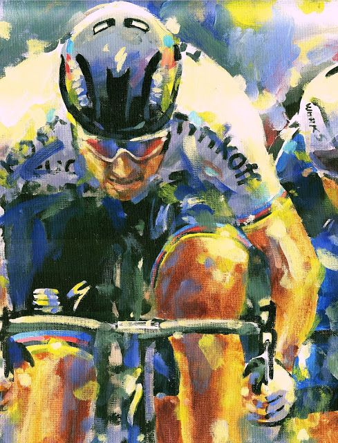 PAINTING LE TOUR: TDF 2016 Sagan!