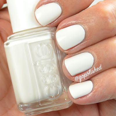 Essie Coconut Cove- an off white polish. New from the Essie summer 2016 collection. @gopolished