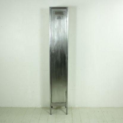 Vintage Steel Single Column Locker