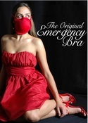 Emergency bra converts into two gas-masks