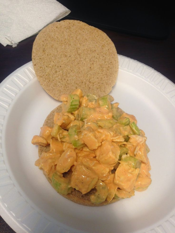 21 Day Fix Approved - Buffalo Chicken Salad.. Perfect for lunch!