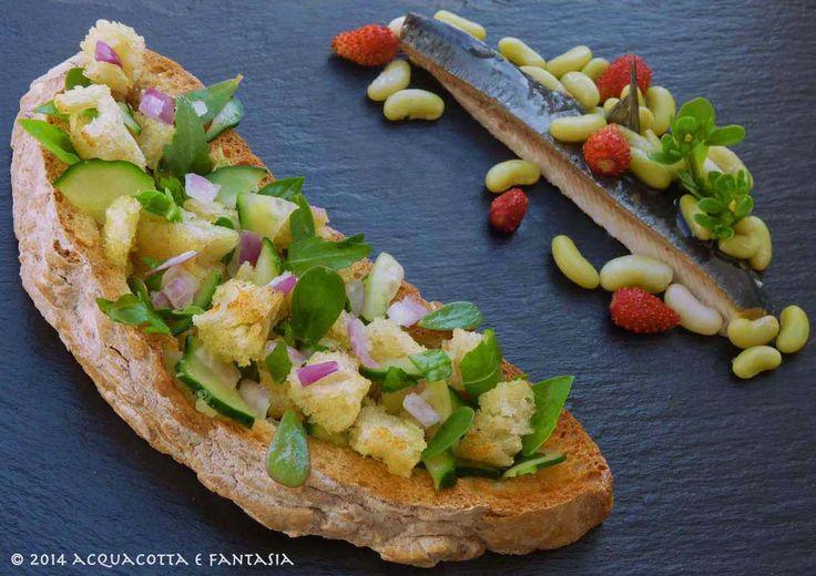 Il #contest di ricette ''Il riciclo in cucina'' è terminato, potete comunque continuare a votare le vostre #ricette preferite, come queste gustosa aringa e insalata di pane e cipolle alla maniera del Bronzino.