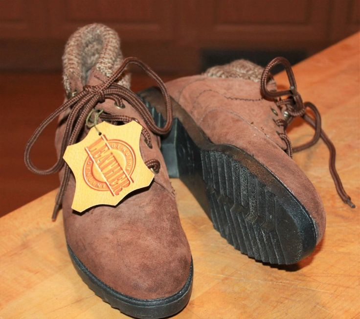 Coasters Womens Leather Desert Boots Sz 7 NOS With Tag 1994 #Coasters #DesertBoots #WalkingHiking