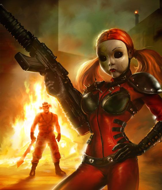 Doll face and sweet tooth video game and fan art - Sweet tooth wallpaper twisted metal ...
