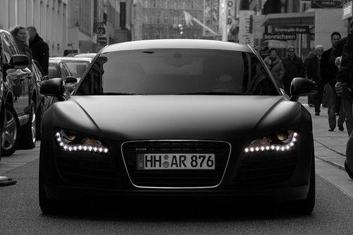 : Audi R8, Future Car, Vroom Vroom, Black Audi, Dream Cars, Matte Black, Things, Matteblack