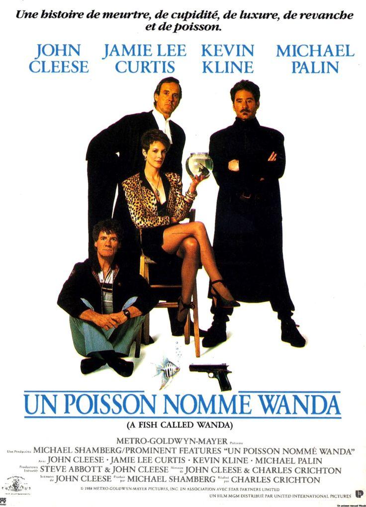 Un Poisson Nommé Wanda (1988) sur un scénario de John Cleese