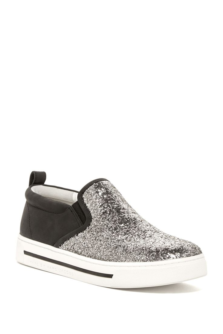 Glitter Slip-On Sneaker