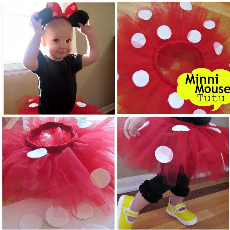 Minnie Mouse Tutu  http://thewhoot.com.au/whoot-news/crafty-corner/diy-tutus