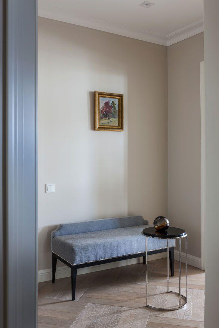 Квартира для деловой и энергичной в Москве | Пуфик - блог о дизайне интерьера