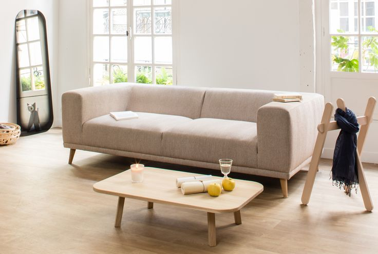 ENOstudio / Welly sofa in Camel