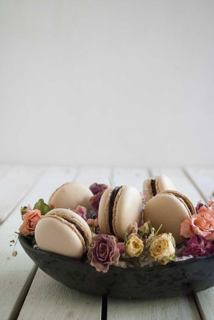 un pedacito de cielo: Macarons Moca