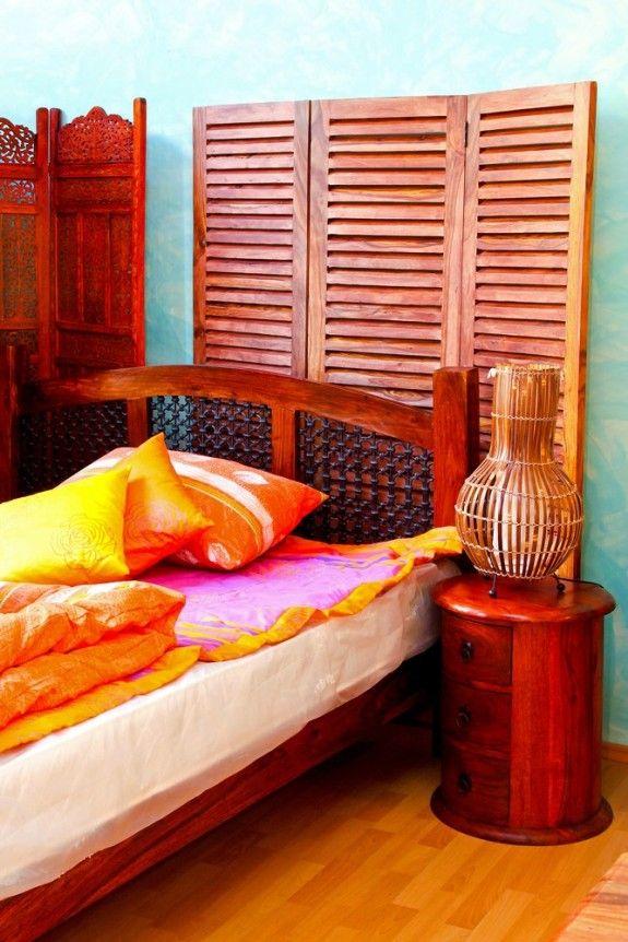 Der Indische Einrichtungstil Ist Bunt, Die Möbel Häufig Aus Dunklem Holz.  #decoration #