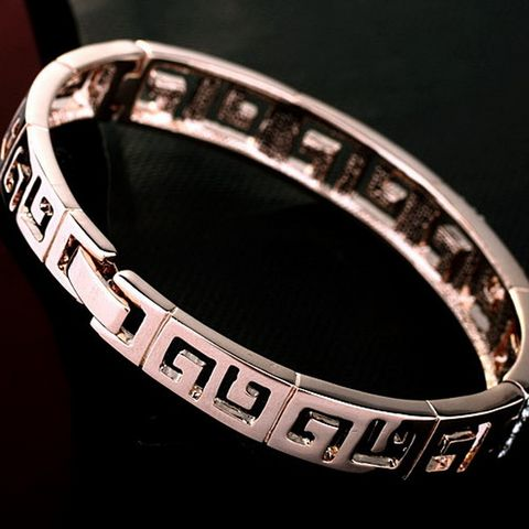 18K Rose Gold Plated With Austrian Crystal Stellux Gift Jewelry | Stylish Beth