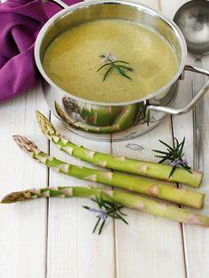 Kuşkonmaz çorbası Tarifi - Diyet Yemekleri Yemekleri - Yemek Tarifleri