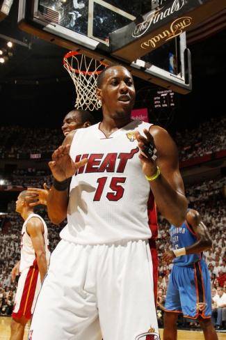 Miami, FL - June 21: Miami Heat and Oklahoma City Thunder Game Five, Mario Chalmers  by Issac Baldizon