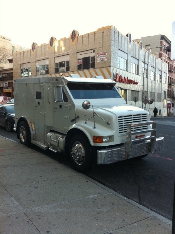 1995 International Armored Truck Level 3 4 In Commercial