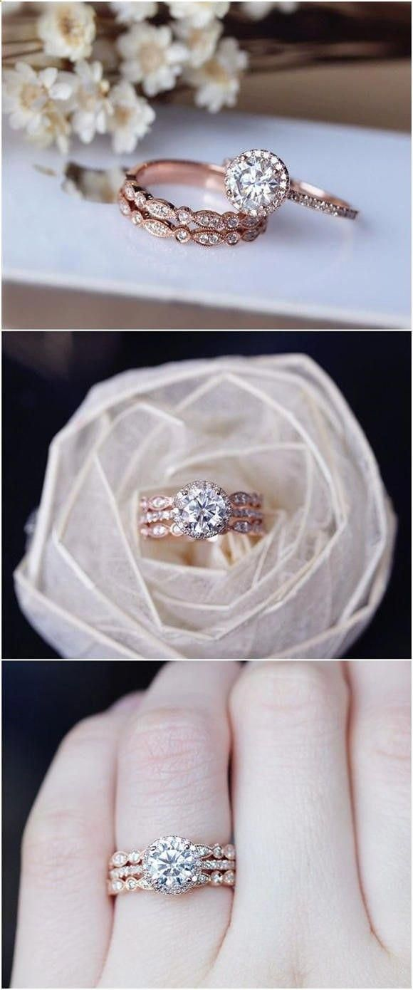 Elegant Sapphire Rings Shop Popularsapphirerings Rosegoldengagementring Wedding Rings Sets Gold Rose Gold Wedding Ring Sets Wedding Rings Engagement