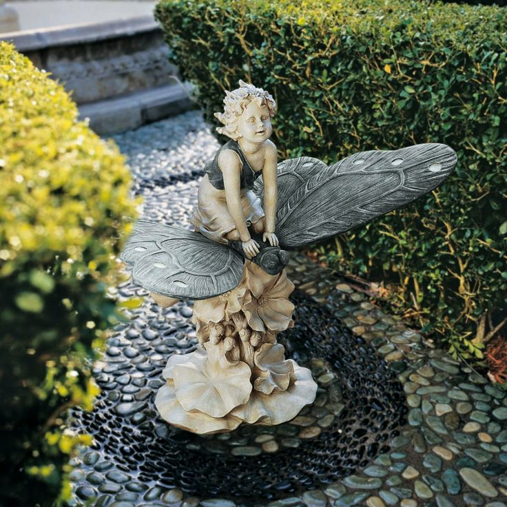 Fairy Garden Statues: Gifts For Gardeners