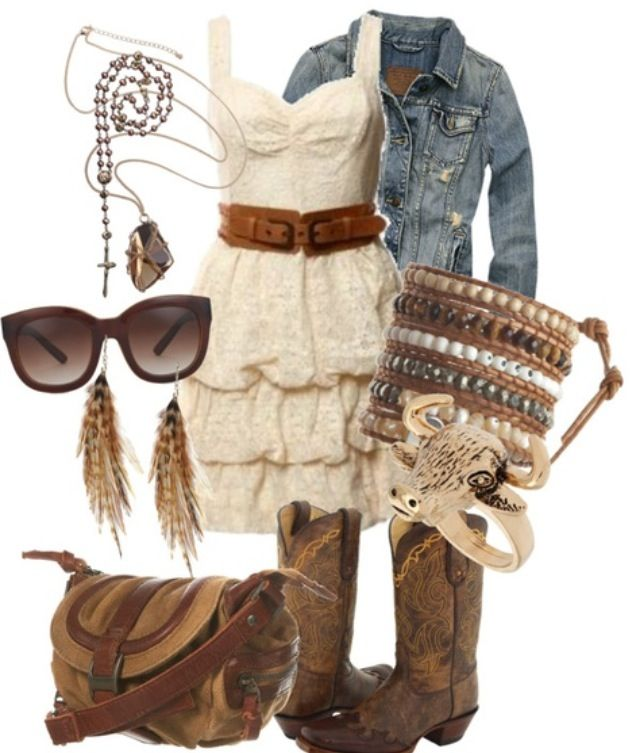 Country Girl Dress Cute Clothes Pinterest Graduation