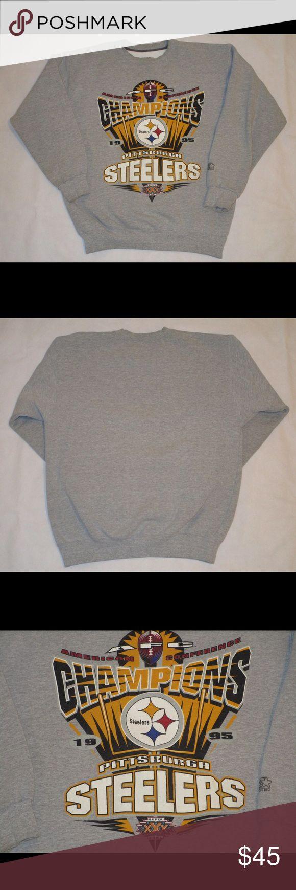 Vintage Pittsburgh Steelers Sweatshirt Vintage Pittsburgh Steelers Starter sweatshirt in great vintage condition! Shirts