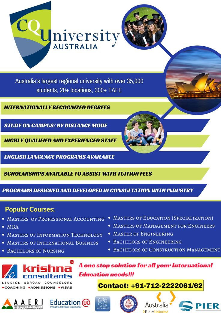 Spot Assessment by CQ University, #Australia on 23-Sept-16 at Krishna Consultants, #Vadodara. Time: 12:00 NOON TO 01:30 PM #studyabroad