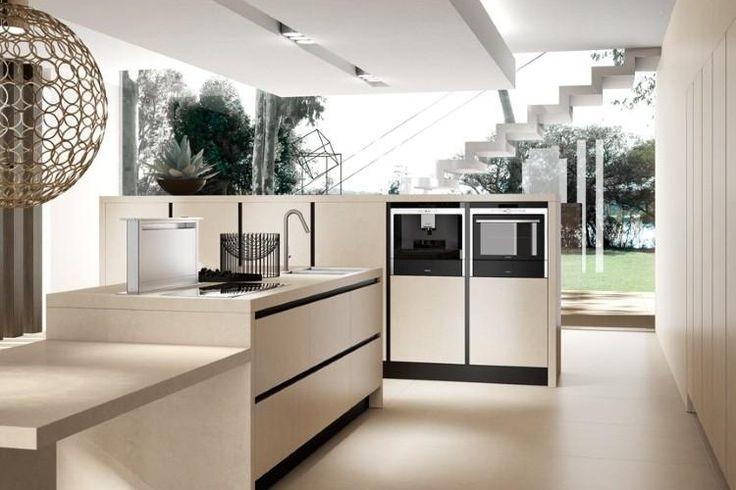 14 best Etherna אריטל מטבחים images on Pinterest Modern kitchens - Modele De Cuisine Moderne Avec Ilot