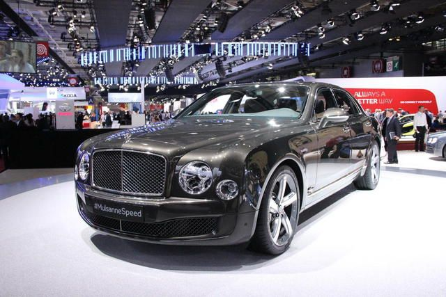 Bentley Unveil New Mulsanne Speed at Luxury Expo in Saudi Arabia. Read more @ http://www.allymon.com