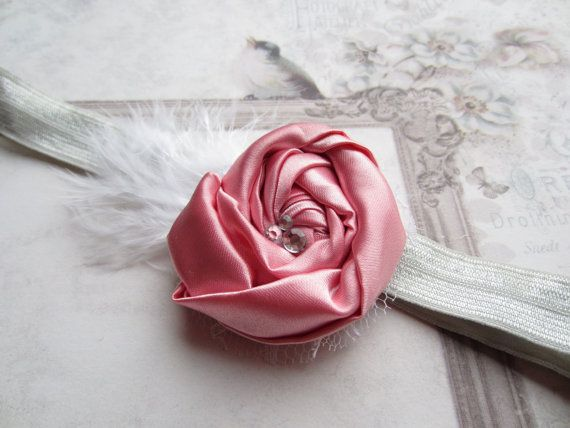 Perfect rose headband!