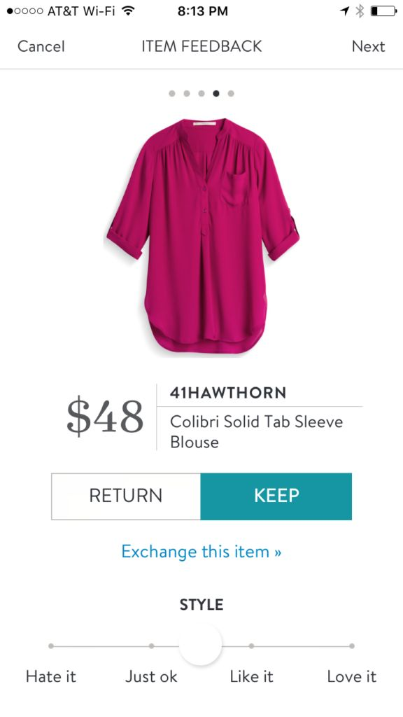 41 Hawthorn Colibri Solid Tab Sleeve Blouse from Stitch Fix | #affiliate