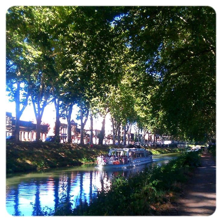 Toulouse, le canal du midi
