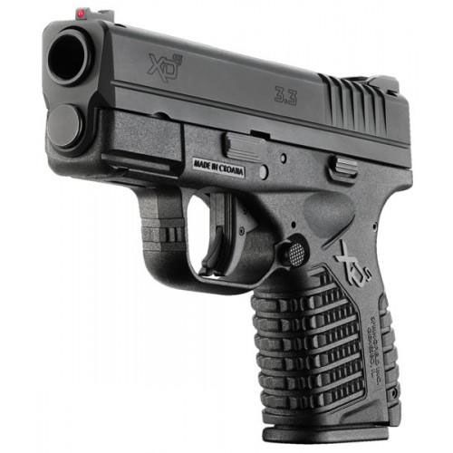 SPRINGFIELD XDs (BLACK) Item # XDS9339B and XDS93345B 9mm or 45acp - ON SALE THROUGH AUGUST 5TH $519.99 (while supplies last)