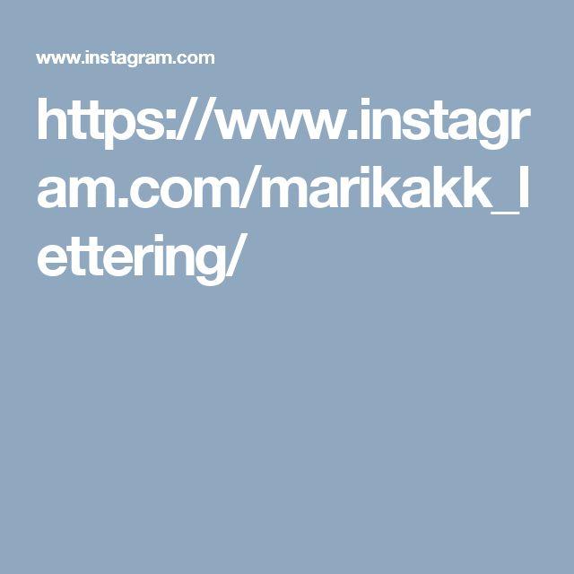 https://www.instagram.com/marikakk_lettering/