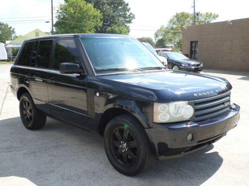 2006 Land Rover Range Rover HSE Sport Utility 4-Door 4.4L - http://suvlive.com/2006-land-rover-range-rover-hse-sport-utility-4-door-4-4l/ COMMENT.