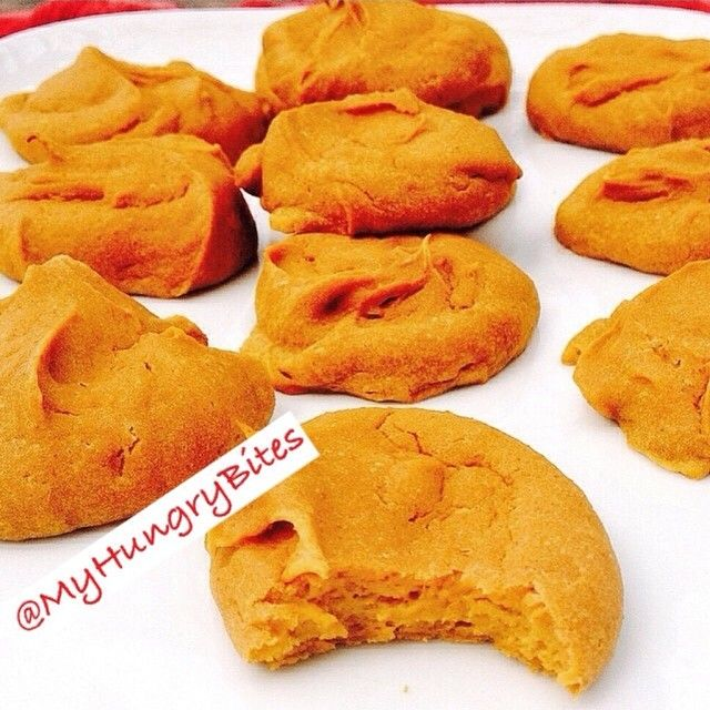 Sweet Potato PB Protein Cookies: 1 sweet potato, cooled & soft after roasting, 1 egg, 1/4 cup peanut flour, 1/4 cup Protein Powder, 2 TB Peanut Butter. Process in the food processor. Then spoon cookies out into prepared baking sheet. Bake at 350 for around 12 minutes.