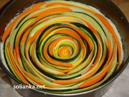 подготовленный пирог