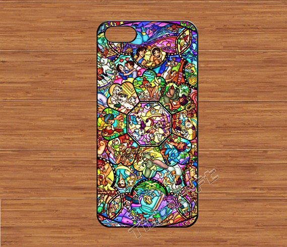 premium selection 2fc74 af579 character disney iPhone 5 Case,disney all character stained glass ...