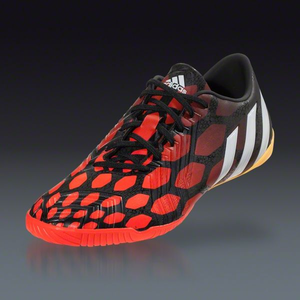 44eb1d27998 ... adidas Predator Absolado Instinct IN - Black Running White Infrared Indoor  Soccer Shoes