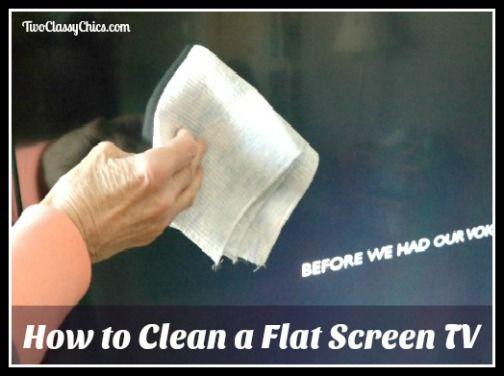 How to Clean a Flat Screen TV   Flat screen tvs, Flat ...