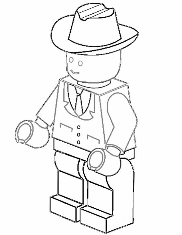 82 best mini figures lego images on pinterest birthdays for Lego figure coloring page