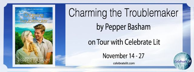 Bookworm Mama: Charming the Troublemaker - Pepper Basham - On Tour with Celebrate Lit