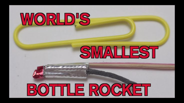 How to Make The World's Smallest Bottle Rocket! https://www.youtube.com/watch?v=1mve23_8zdI . how to make your own #crafts follow @cutephonecases