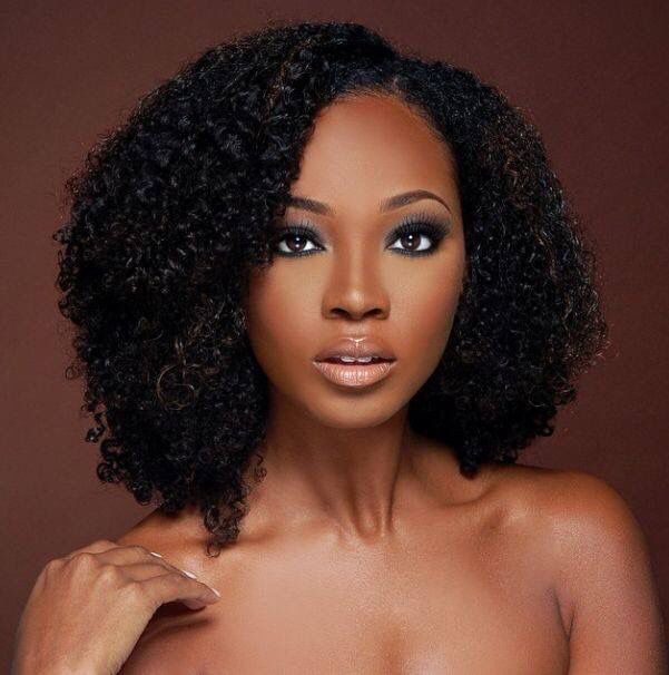Bre From Antm In 2019 Natural Hair Styles Curly Hair