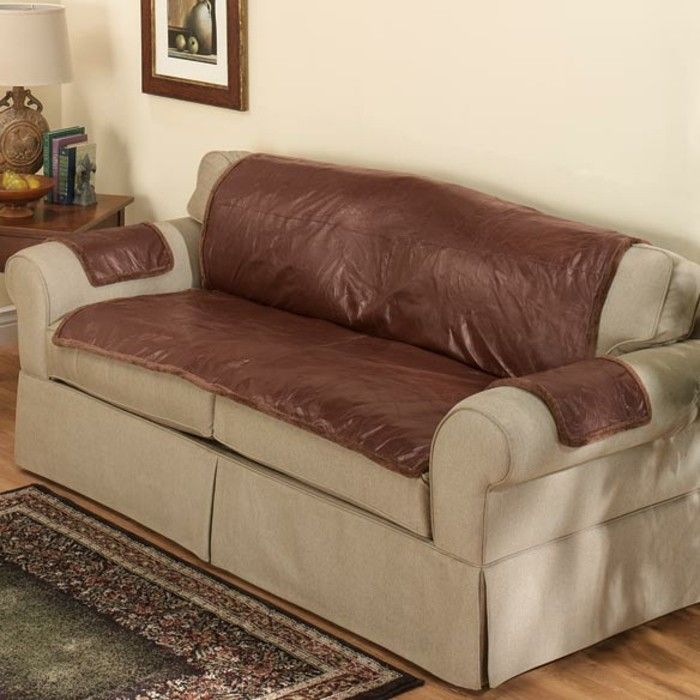 Slipcover Furniture Living Room: Best 25+ Leather Couch Covers Ideas On Pinterest