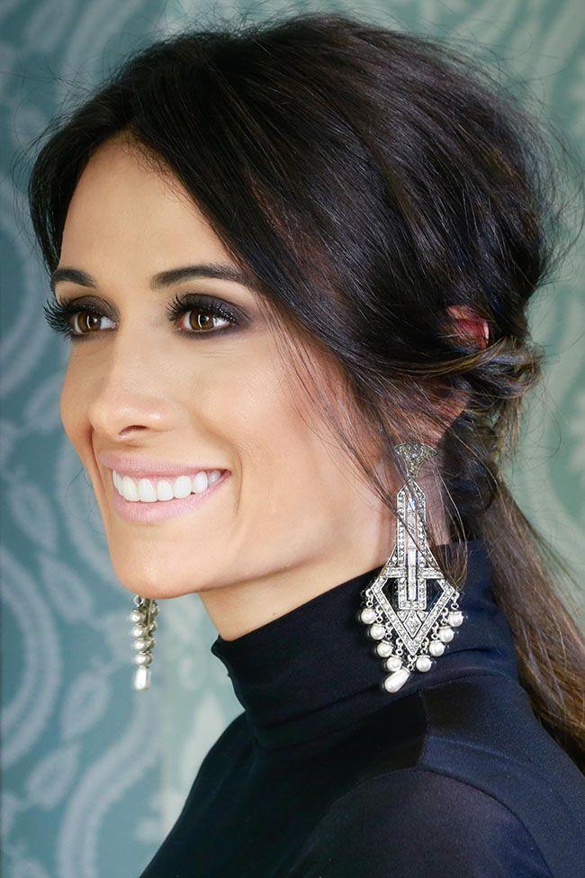 Makeup versátil para a Silvia Braz, com esfumado preto que combina com todas as mulheres.