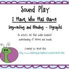 This set comes with everything you need to pull together a mini-lesson on segmenting and blending words with digraphs.