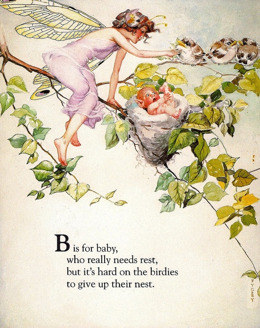 """B is for Baby"" - Fanny Y. Cory by docarelle, via Flickr"
