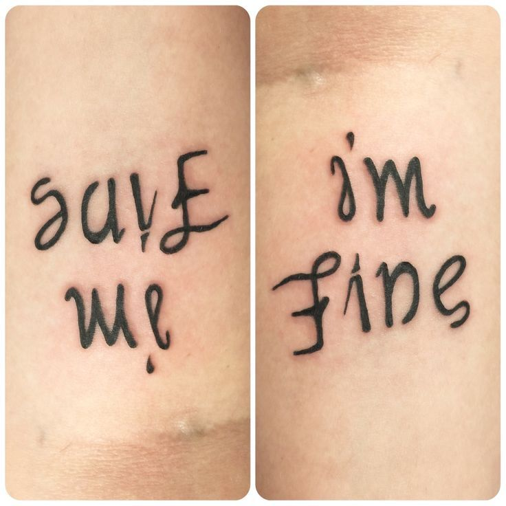 Her Tattoo Says 'I'm Fine' But Watch What Happens When You Turn It Around   World Truth.TV