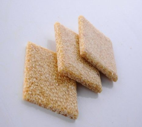 Chikki is a traditional ready-to-eat Indian sweet. Sesame chikki is made with sesame seeds mixed with jaggery for a healthy, anytime snack.