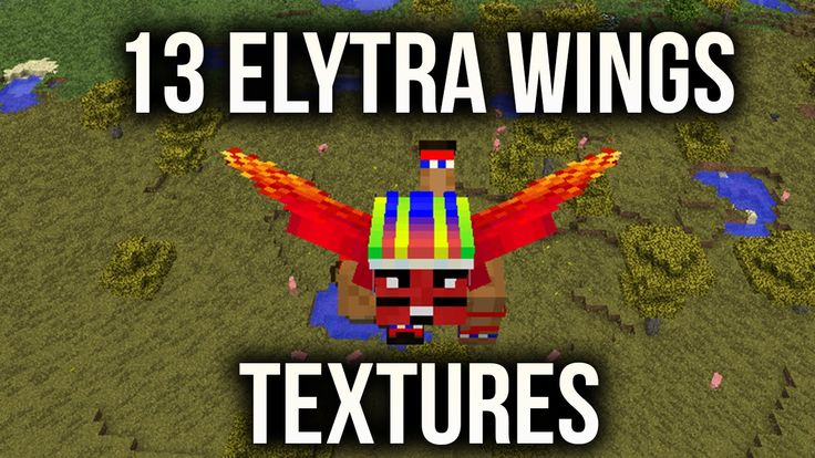 13 New Textures for Elytra Wings | Texturas para Asas Elytra | Texturas ...